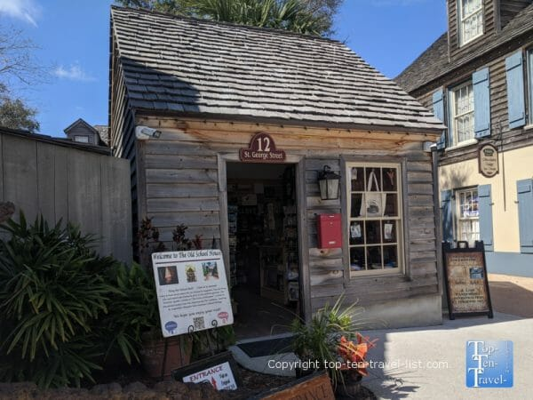 The oldest wooden schoolhouse in St. Augustine, Florida
