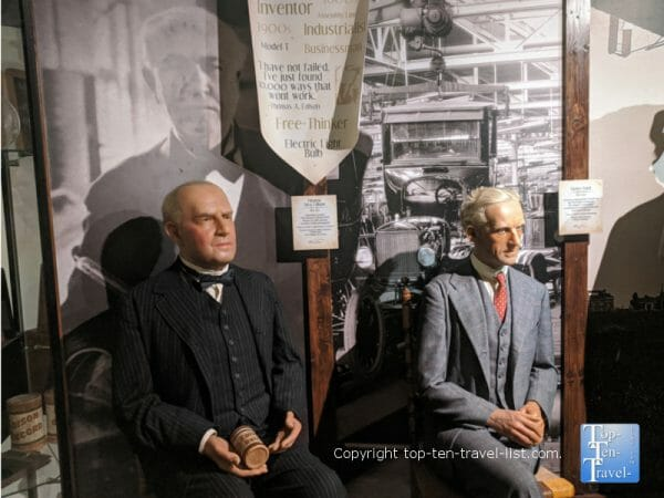 Thomas Edison at Potter's Wax Museum in St. Augustine, Florida