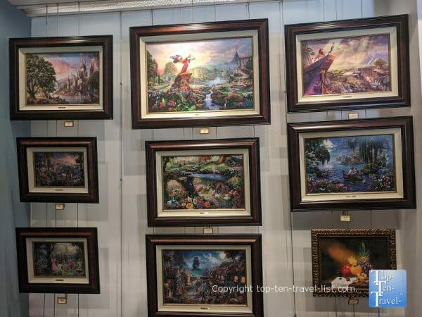 Art of Disney gift shop at Disney Springs in Orlando, Florida