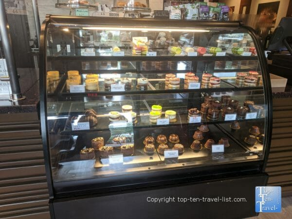 Desserts at the World of Chocolate in Orlando, Florida
