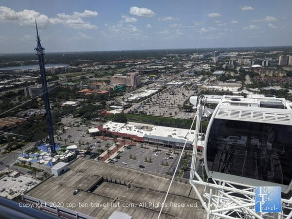 Views from the Wheel at Icon Park in Orlando, Florida