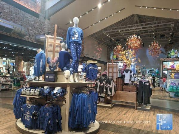 The World of Disney store at Disney Springs in Orlando, Florida