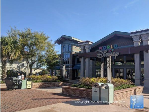 World of Disney shop at Disney Springs in Orlando, Florida