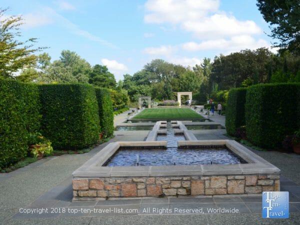 A Women's Garden at the Dallas Arboretum