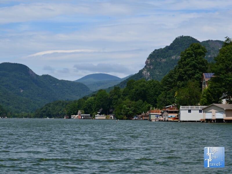 Breathtaking scenery via a Lake Lure cruise