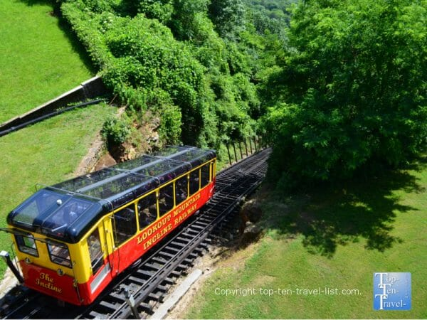 Incline Railway at Lookout Mountain in Chattanooga, TN