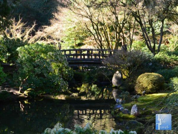 Moon Bridge at the Portland Japanese Garden