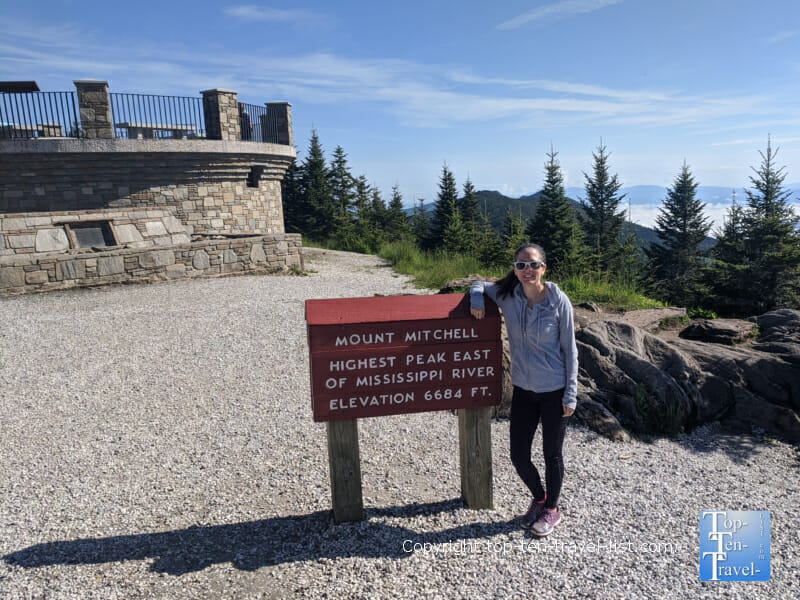 Mt. Mitchell - the highest peak east of the Mississippi