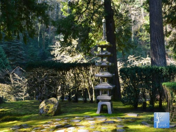 Peaceful scenery at the Portland Japanese Garden