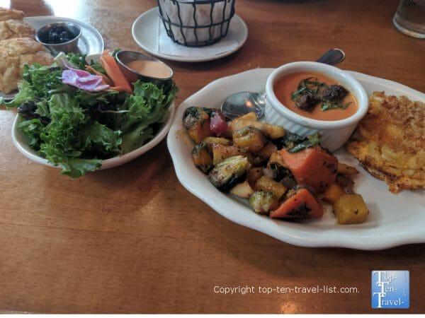 Vegetable Platter at Tupelo Honey Cafe