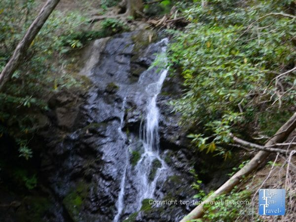 Cataract Falls in the Great Smoky Mountains National Park in Tennessee