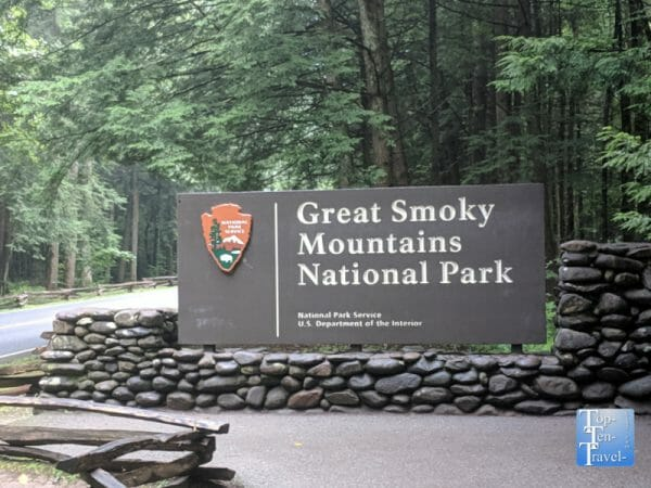 Smoky Mountains National Park in Tennessee