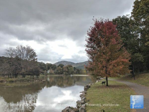 Lake Tomahawk in Black Mountain, North Carolina