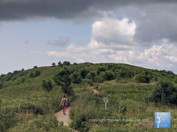 Hiking the Art Loeb trail to Black Balsam Knob overlook