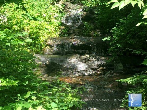 Logging Road Falls in Western North Carolina