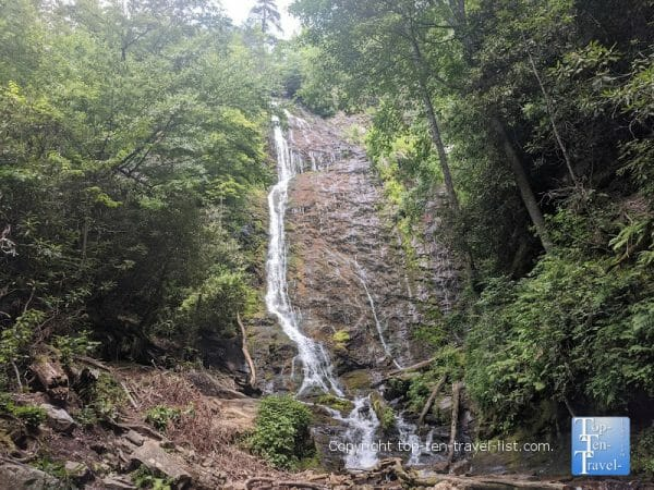 Mingo Falls on the Cherokee Indian Reservation in North Carolina