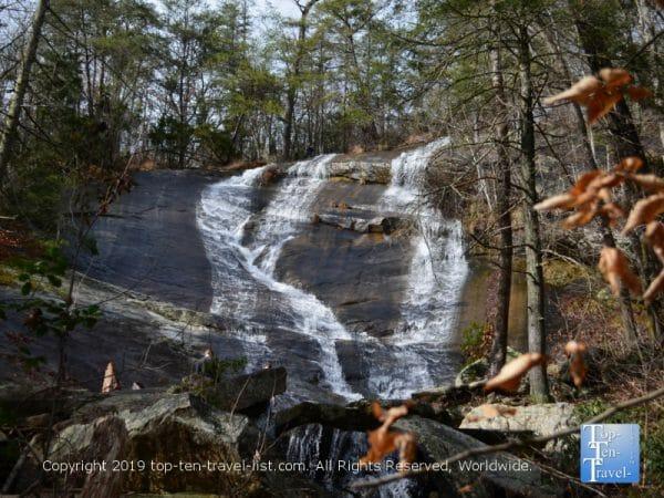 Upper Wildcat Branch Falls in Upstate South Carolina