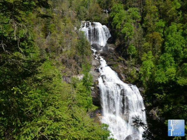 Upper Whitewater Falls in Western North Carolina