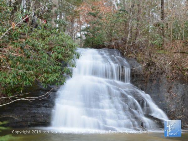 Wildcat Branch Falls in Upstate South Carolina