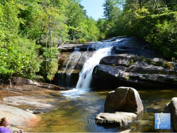Wintergreen Falls in the Dupont State Forest