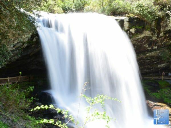 Dry Falls in Western North Carolina