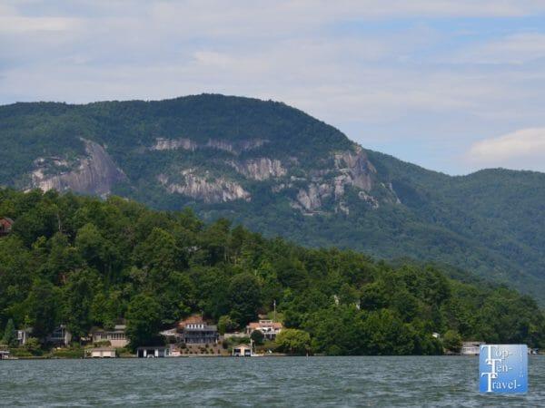 Beautiful Lake Lure in Western North Carolina