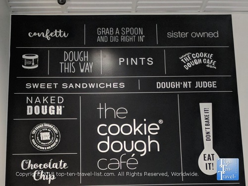 The Cookie Dough Cafe Restaurant Preview