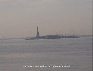 Visit Ellis Island & take in amazing views from the Statue of Liberty