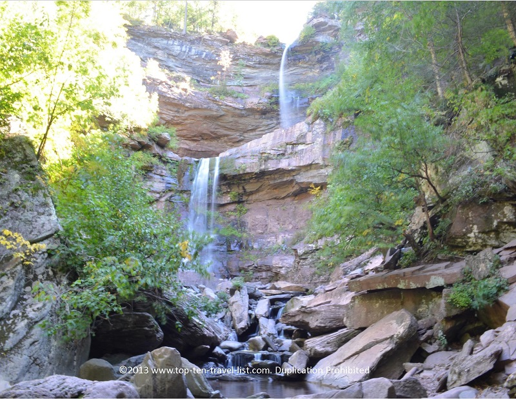Hike to Kaaterskill Falls