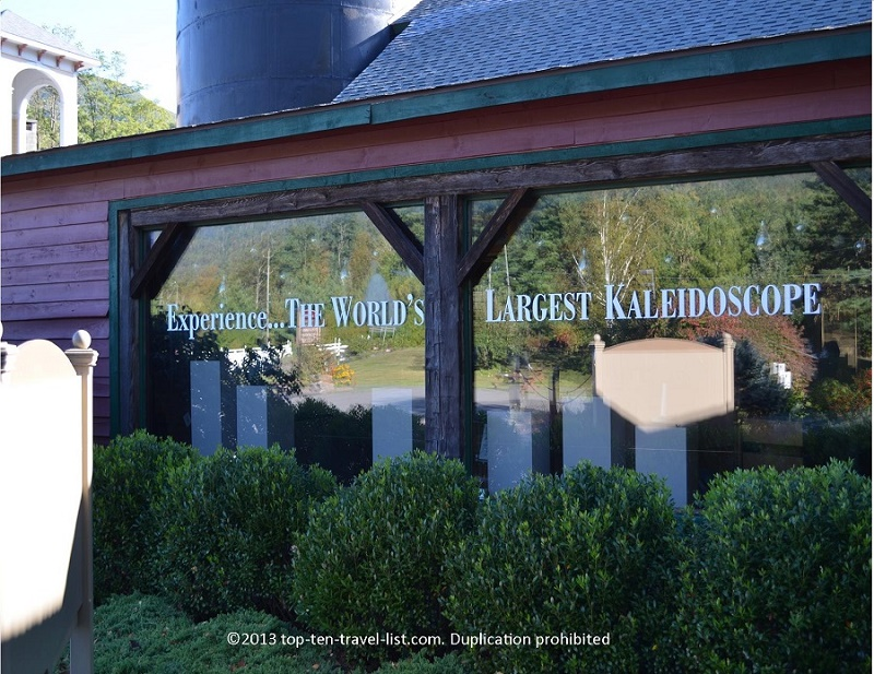 Check out the World's Largest Kaleiodoscope
