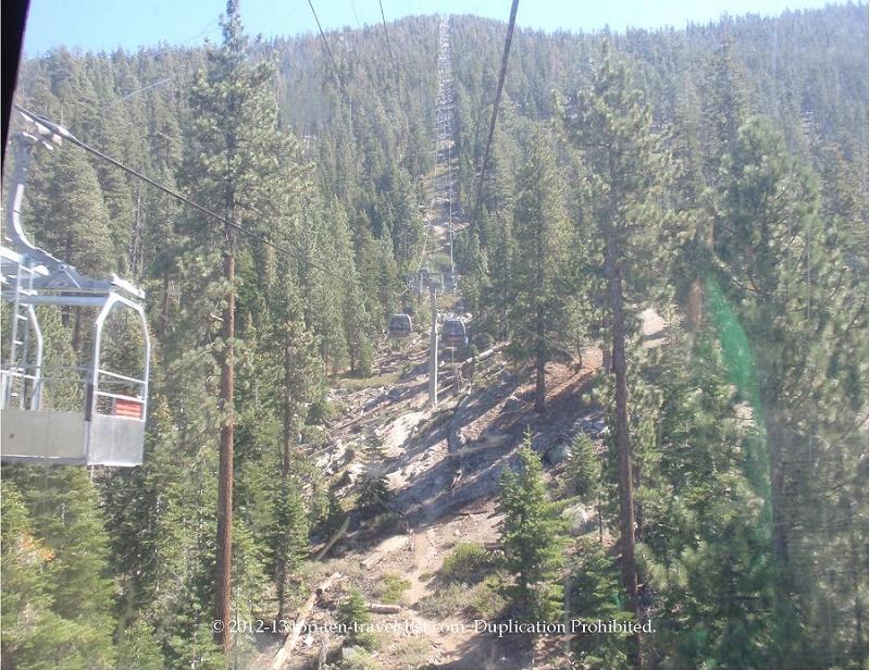 Enjoy a scenic gondola ride at Heavenly Village