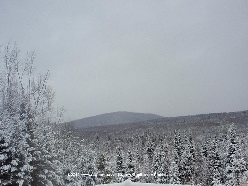 Exploring nature and solitude at New Hampshire's White Mountains National Forest