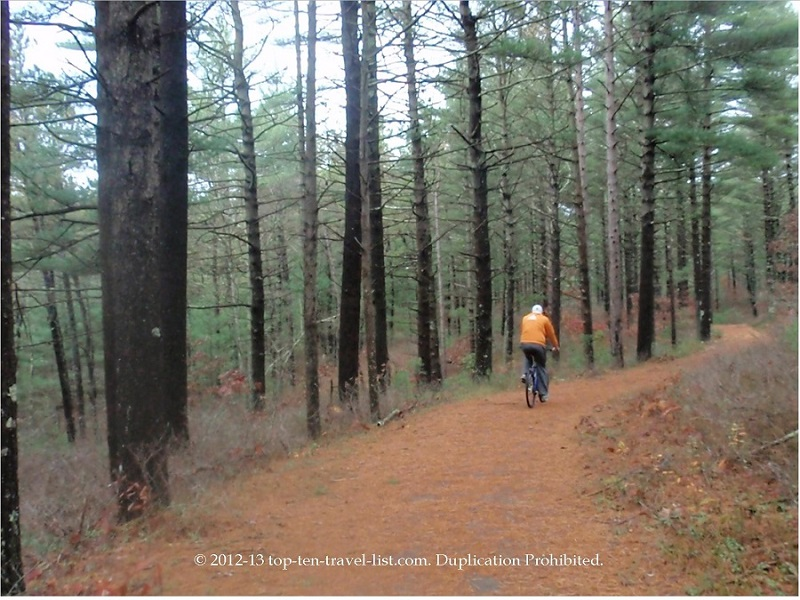 Myles Standish State Forest Bicycle Trails