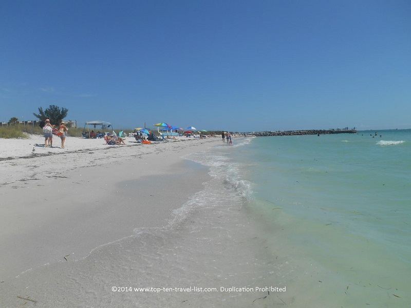 Enjoy the clear waters & quiet atmopshere of Pass-a-Grille Beach