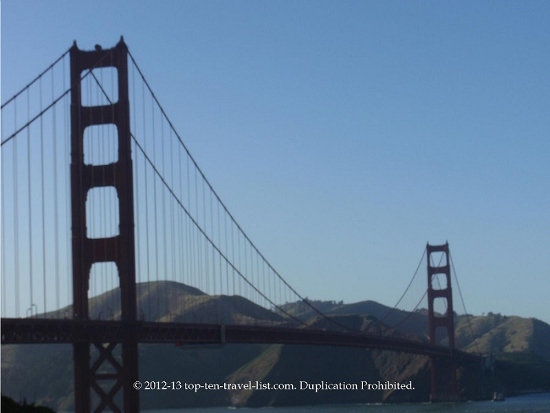 Walk across the Golden Gate Bridge
