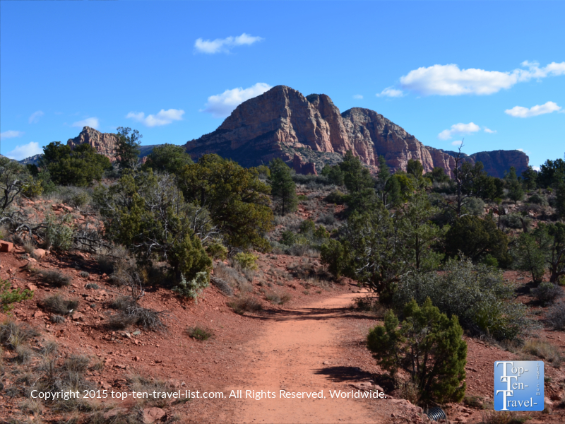 Take a long scenic morning stroll along the Little Horse Trail