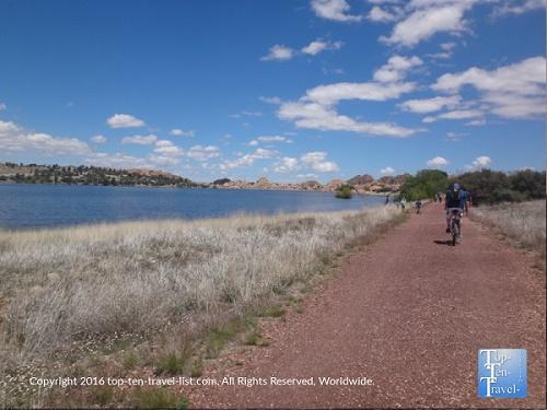 Take a bike ride along the Peavine Trail