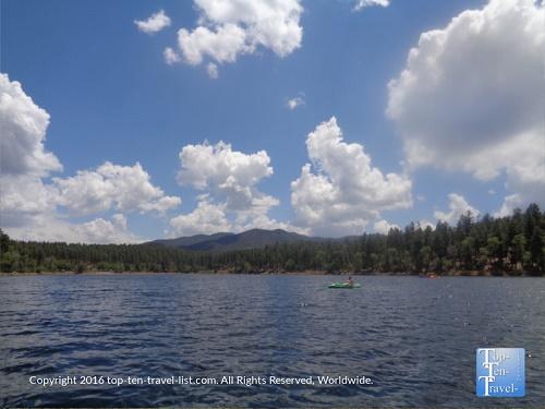 Kayak on Lynx Lake