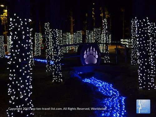 Check out Wild Wonderland at Bearizona