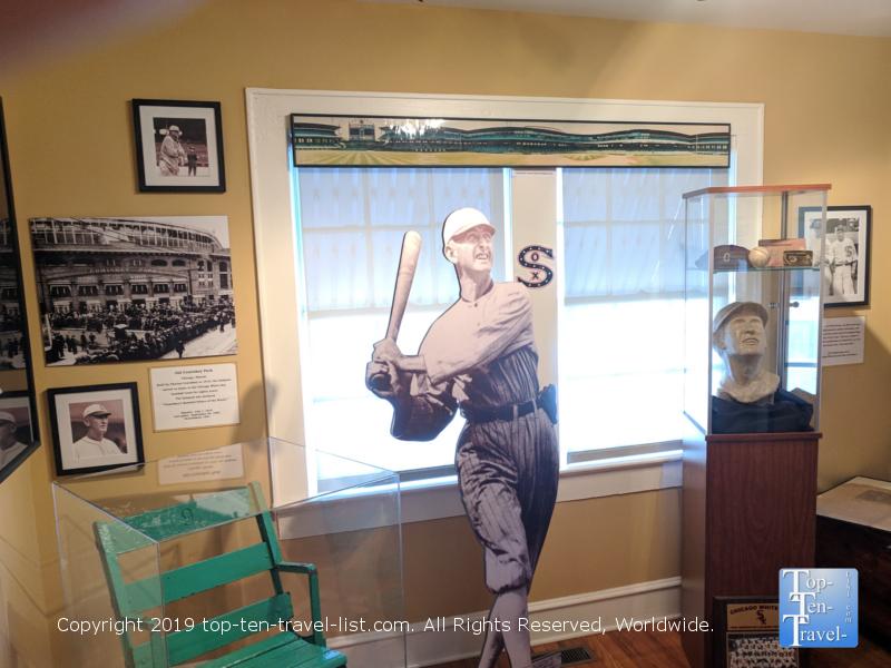 Explore the Shoeless Joe Jackson baseball museum