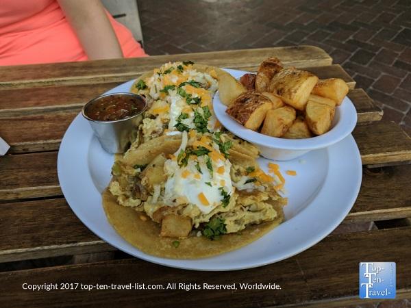 Enjoy brunch at Mercado San Agustin