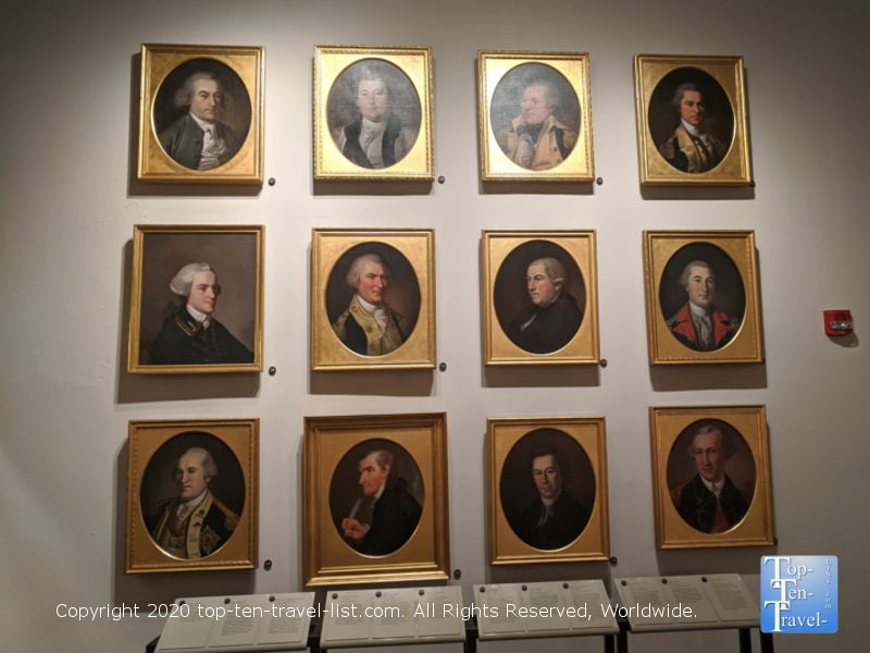 Visit the Portrait Gallery at Second Bank