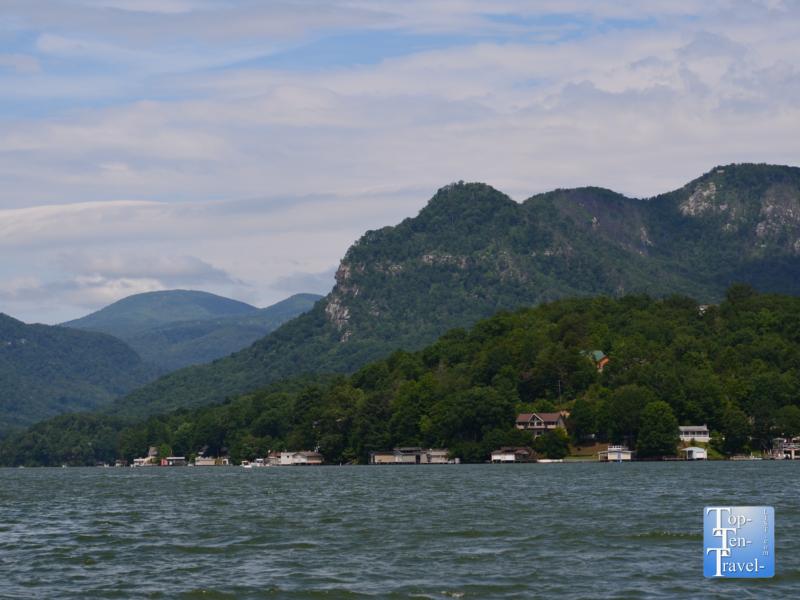 Take a cruise on Lake Lure