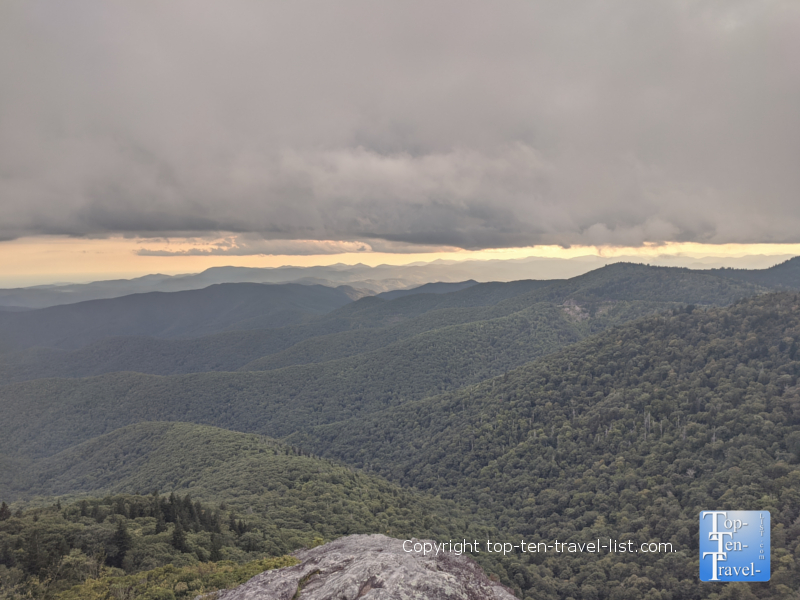 Hike to the summit of Devil's Courthouse