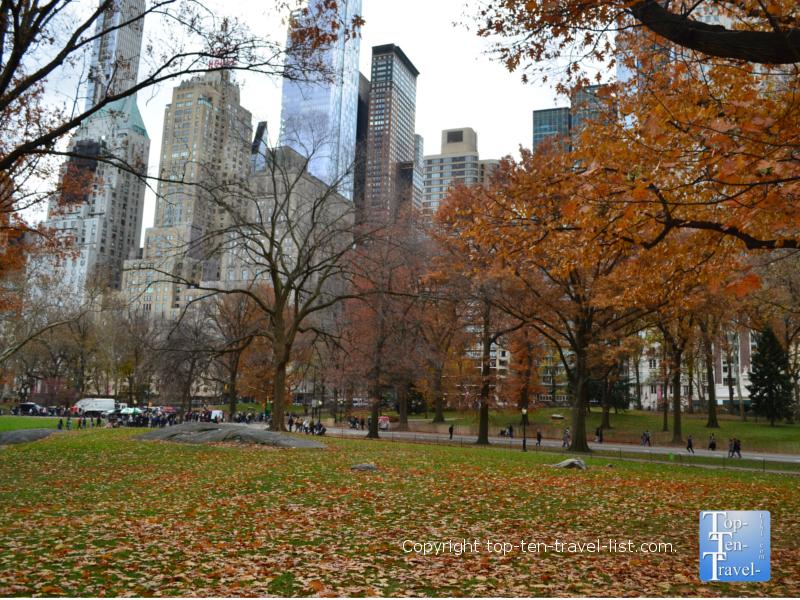 Take a stroll around Central Park