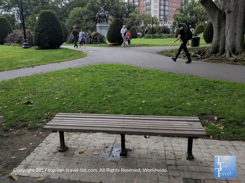 Boston Public Garden - Good Will Hunting